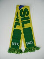 BRASIL Brazil National Team SOCCER SCARF Warm Winter World Cup Match Fan Flag