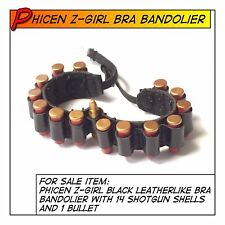 Phicen Hot Z-Girl Leather Bra Bandolier w/ Shells fit 1/6 12 in Female Toys
