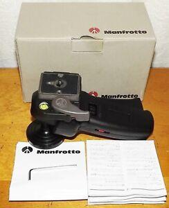 Manfrotto Joystick Head Short 322RC2 Tripod Head - VGC - Papers & Original Box
