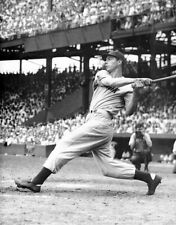 CLASSIC JOE DIMAGGIO AT BAT YANKEES ALL TIME GREAT LEGEND 8x10 GLOSSY