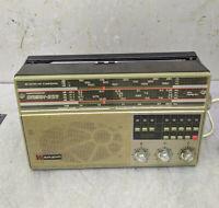 "Radio Receiver ""Horizont""  Radiola Vintage USSR Soviet"
