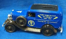 1932 Ford V8 Panel Truck Bank with Key By Ertl, 1/34 Scale, Die-cast.   T2