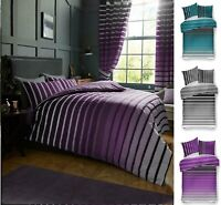 Luxuries OSCAR Stripe Duvet Cover Set With Pillow Case,Bed Line / Quilt Sets Gc