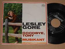 """LESLEY GORE -Goodbye Tony / Musikant- 7"""" 45 deutsch gesungen"""