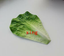 10 pcs artificial vegetable leaf faux lettuce leaf fake fruit house kitchen