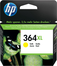 HP 364 XL Gelb (Yellow) Tintenpatrone Druckerpatrone - ORIGINAL - OVP