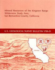 GEM & silver mines, near Death Valley CA, Kingston Range, scarce 1st ed report !
