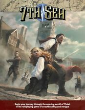 7th Sea - RPG - John Wick Presents - Hardcover - Brand New - Free Shipping