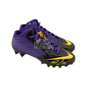 Dalvin Cook Autographed Nike Football Cleats - JSA COA
