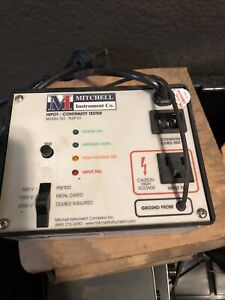 Mitchell PLEP 01 Hipot/Continuity Tester For Dielectric Strength Testing