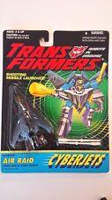 G2 CYBERJETS AIR RAID; Hasbro 1994 Transformers; MOSC, cyberjet