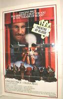 Filmplakat,Plakat,THEATRE OF BLOOD,VINCENT PRICE,DIANA RIGG # 92