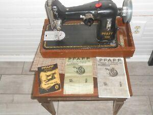 PFAFF SEWING MACHINE 130 WITH Manuals