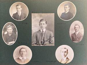 WWI The Lost Generation of Uppingham School 1907-10 Album of Photo Portraits