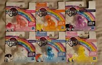 NEW! (Lot of 6) Hasbro MY LITTLE PONY Mini Figures Cake Toppers Bronies Toy Gift