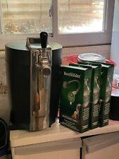 Krups VB21 B100 BeerTender Home Mini Keg Draft Beer Dispenser