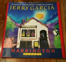 More details for jerry garcia  harrington street words and pictures by jerry hardback book g.dead