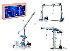 Deluxe Motorized Crane Set Eitech C35 Metal Construction Building Toy Steel Kit