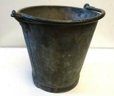 Vintage Heavy Gauge, Heavy Duty Galvanised Metal Buckets.
