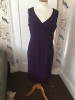 alexon dress size 12 Purple