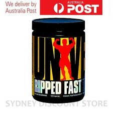 Universal Nutrition Ripped Fast High Potency 120 Capsules Fat Burner Weight Loss