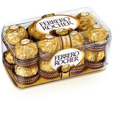 16 Ferrero Rocher Hazelnut Chocolate Crisp Wafer Collection Diwali Gift Box