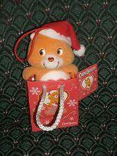 "Care Bear 6"" Christment Ornament * TENDERHEART BEAR * TAN * NWT* 2005 * RARE *"