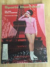 Sports Illustrated Champion Figure Skater Peggy Fleming On Cover May 2, 1966