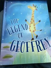 The Legend Of Geoffrey Giraffe Storytime Bedtime Book. Toys R Us. Brand New