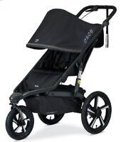 BOB Alterrain Pro Jogging Stroller Swivel Front Wheel Baby Jogger Black NEW
