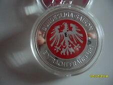 Eintracht Frankfurt 50 Jahre 1.Bundesliga 1963 - 2013 Medaille Münze 1 Oz  40 mm