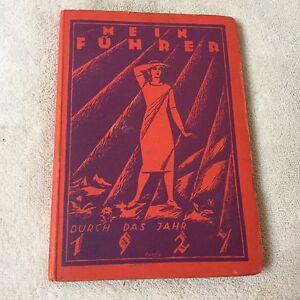 Mein Führer durch das Jahr 1927 Kresting Scheuvens Buch Ratgeber