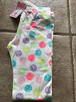 NEW Circo Toddler Girl's Polka Dots Leggings -White w/ Colored Dots 18M*3T*5T*6x
