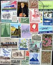 Islande - Iceland 500 timbres différents