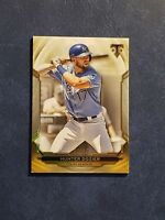 Hunter Dozier 2019 Topps Triple Threads Gold 92/99 #75 Royals