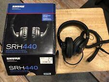 Shure SRH440 Professional Studio Headphones - All Accessories
