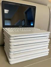 Lot of 10 HP 11-White Chromebooks  5 2GB 16GB WebCam FOR PARTS ONLY