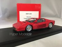 BBR Models 1/43 Ferrari Testarossa Monospecchio 1984 Red ArtBR26A