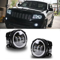 Fit 05-09 Dodge Charger  Avenger Pontiac Grand Am LED Projector Fog Lights Pair