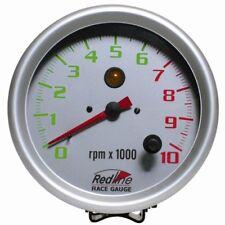 "5"" 125mm Tachometer with Internal Shift Light 510-10 Redline"