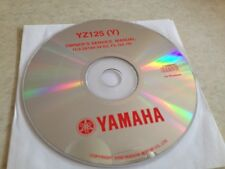 Yamaha YZ125Y 2009 YZ 125 ( Y ) YZ Workshop Service manual manuel atelier CD pdf