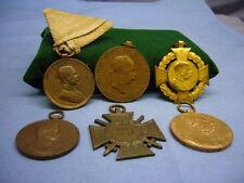 alt Konvolut Abzeichen Orden Ordensnachlass Österreich 6 Stück K&K Monarchie(11)