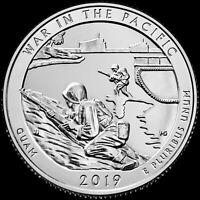 "2019 S ""War in the Pacific"" Guam National Park Quarter US Mint ""BU"" ATB"