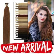 Stick/I Tip Stick Straight 100% Remy Human Hair Extensions Pretty Lustrous Fit