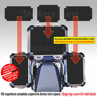 Kit 3 adesivi COPERCHIO SUPERIORE borse valigie BMW R1200GS ADV bags stickers