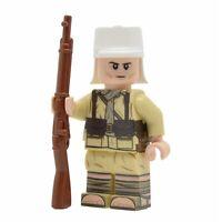 Lego Custom WW2 FRENCH Foreign Legion Desert- Full Body Printing -NEW-