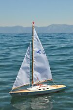New Gunther Sturmvogel sailboat- Beautiful, functional pond yacht