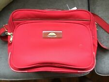 SAMSONITE RED CABIN LUGGAGE SHOULDER BAG LAPTOP BUSINESS FILES FLIGHT BRIEFCASE