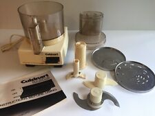 Cuisinart DLC-10 Plus Food Processor Bundle - Vintage