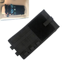 Car Sun Visor Organizer Tactical Molle Visor Panel Storage Bag Card Holder Pouch